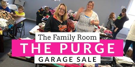 The PURGE Garage Sale! tickets