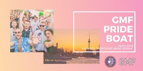 GMF Pride Boat 2019 Tickets