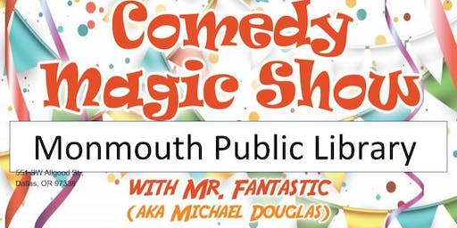 Monmouth Library Magic Show