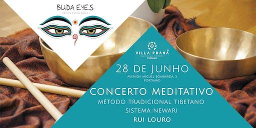 Concerto Meditativo de Taças Tibetanas