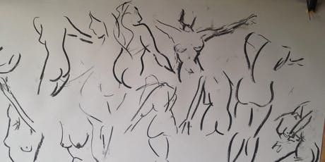 Life Drawing Session  - Female model tickets