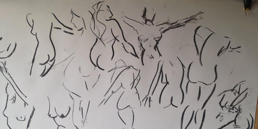 Life Drawing Session  - Female model