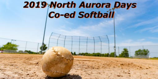 2019 North Aurora Days - Co-Ed Softball Games