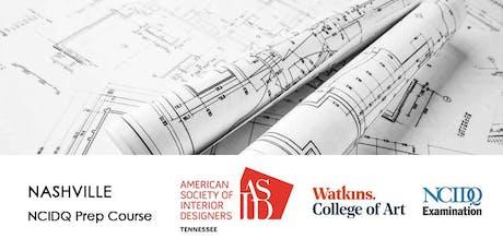 ASID Tennessee | NCIDQ Prep Course | Aug 16-18 tickets
