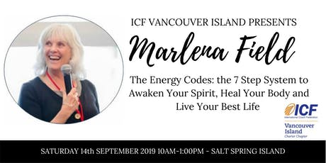The Energy Codes with Marlena Field tickets