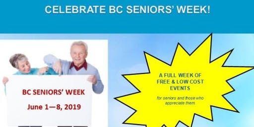 BC Seniors' Week - Physical Activity and Healthy Aging