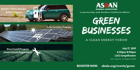 ABA presents: GREEN BUSINESSES tickets