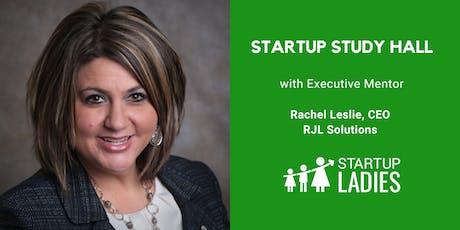 Startup Study Hall Terre Haute with Rachel Leslie tickets