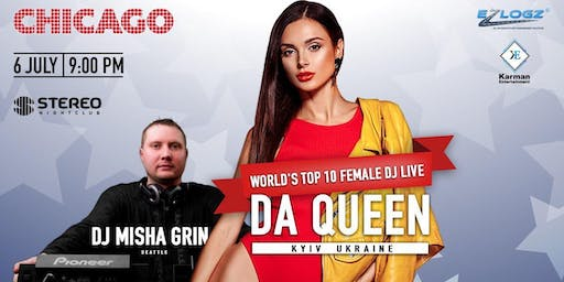 World's Top 10 female Dj live, DaQueen - hosted by Dj Misha Grin
