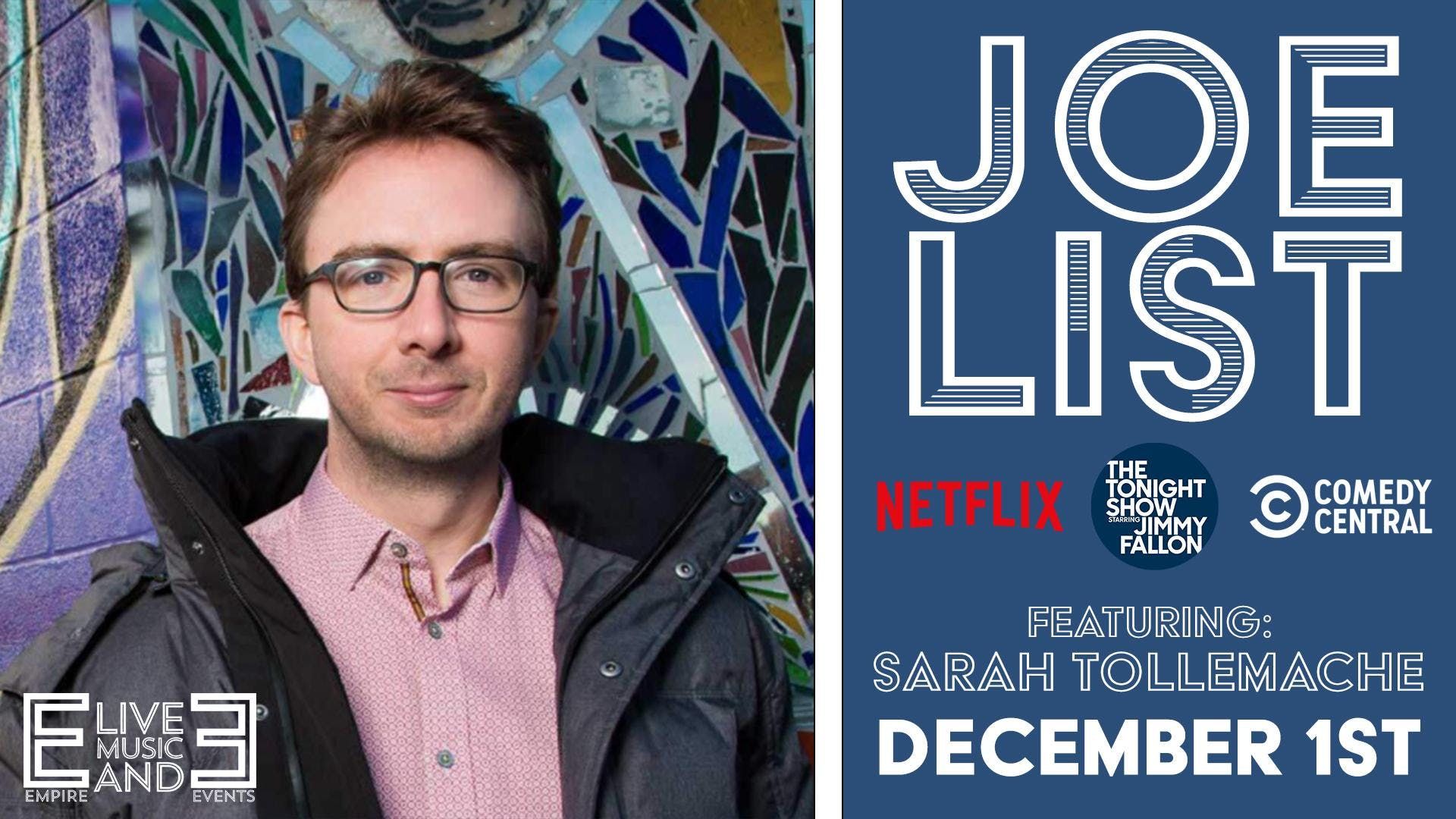 Joe List feat: Sarah Tollemache | Sunday Night Comedy