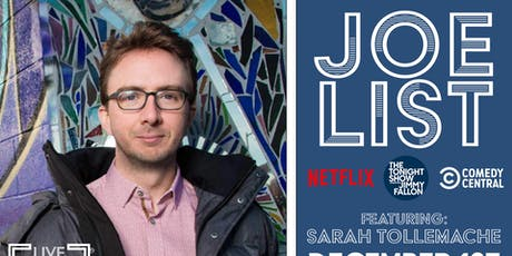 Joe List feat: Sarah Tollemache | Sunday Night Comedy @ Empire Live Music & Events tickets