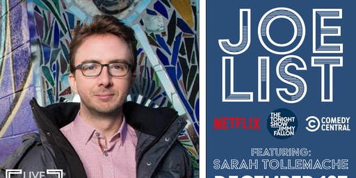 Joe List feat: Sarah Tollemache | Sunday Night Comedy @ Empire Live Music & Events