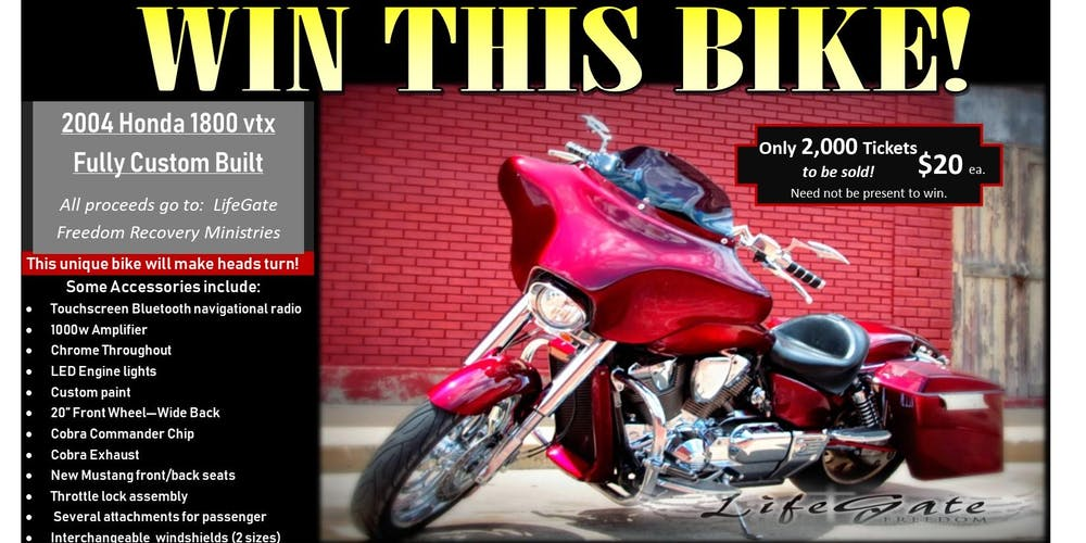 Win this Motorcycle
