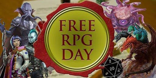 Free RPG Day at Doc's!
