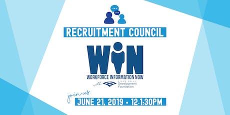 Recruitment Council Meeting + WIN Platform Launch Party tickets