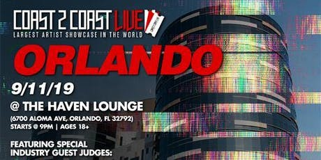 Coast 2 Coast LIVE Artist Showcase Orlando, FL - $50K Grand Prize tickets