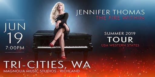 Jennifer Thomas - The Fire Within Tour (Tri-Cities, WA)