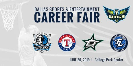 Dallas Sports & Entertainment Career Fair Hosted by Dallas Wings tickets