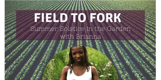 Field to Fork- Summer solstice yoga in the garden