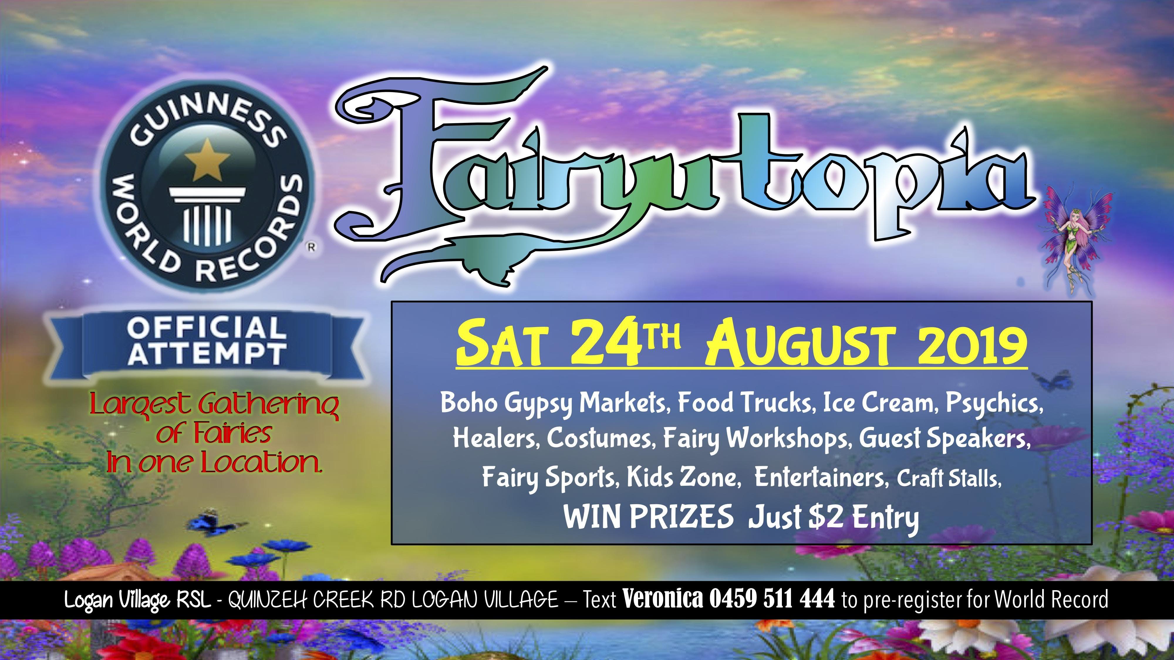 Fairyutopia Guinness World Record Attempt Registration
