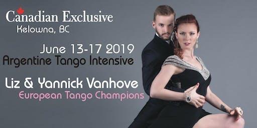 Tango Intensive with Liz & Yannick - Kelowna BC