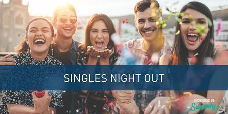 Singles Night Out - Hosted by Gateway Church tickets