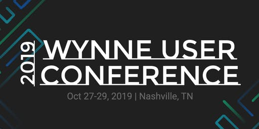 2019 Wynne User Conference