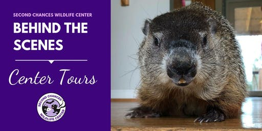 Behind the Scenes Wildlife Center Tour - JULY 28, 2019