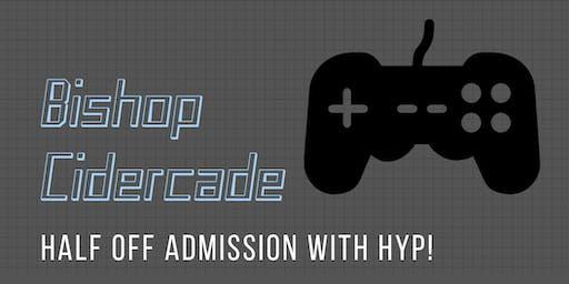 Cidercade with HYP