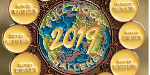 Now Only $20! 2019 Full Moon Running and Walking Challenge- Spokane