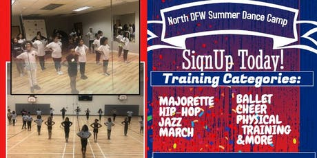 SUMMER DANCE CAMP AGES 6-17 tickets