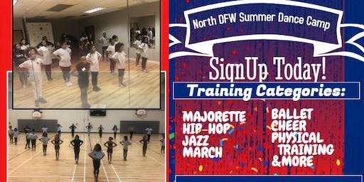 SUMMER DANCE CAMP AGES 6-17