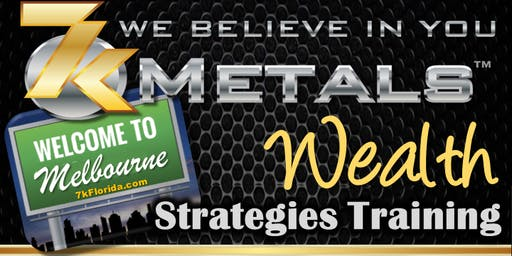 WEALTH STRATEGIES for ALL in MELBOURNE, FLORIDA (GUESTS FREE)