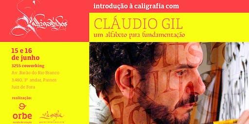 Introdução à caligrafia com Cláudio Gil
