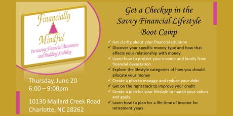 Savvy Financial Lifestyle Boot Camp tickets