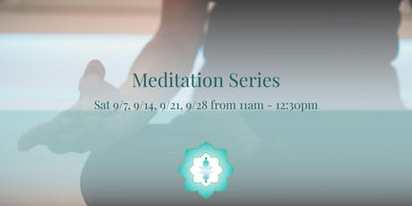 Meditation Series tickets