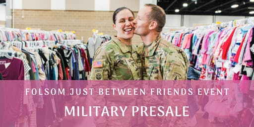 Military Presale: Children/Maternity Pop Up Consignment Sale All Season 19(JBF Folsom)