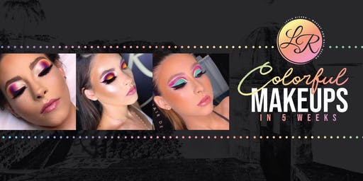 COLORFUL MAKEUPS IN 5 WEEKS- ARECIBO