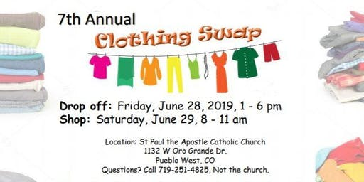 Pueblo Community Clothing Swap