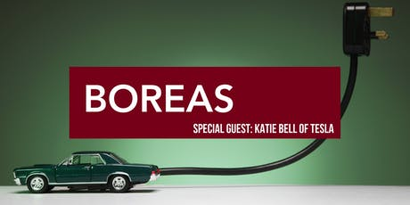 Boreas Community Hour with Special Guest Katie Bell of Tesla tickets