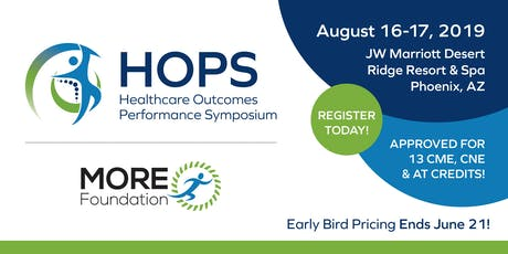 2019 Healthcare Outcomes Performance Symposium tickets