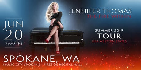 Jennifer Thomas - The Fire Within Tour (Spokane, WA) tickets