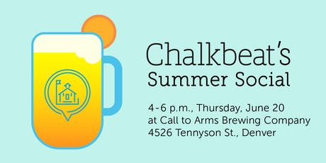 Chalkbeat's 2019 Summer Social tickets