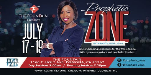 Prophetic Zone International 2019