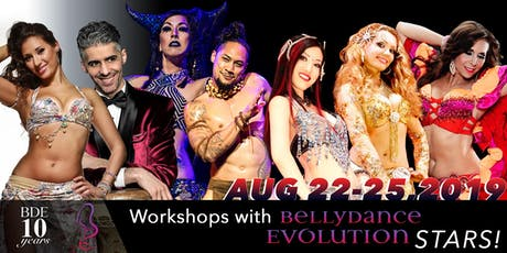 BDE 10 Year Anniversary Workshops tickets