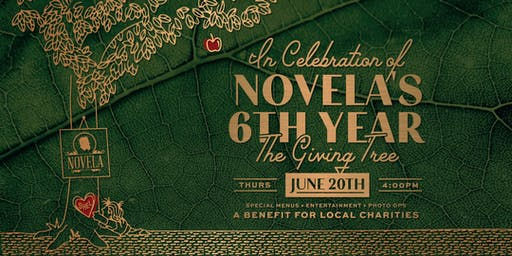 The Giving Tree: Novela's 6 Year Anniversary Celebration & Fundraiser