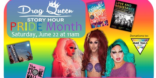 Drag Queen Story Hour: PRIDE Month