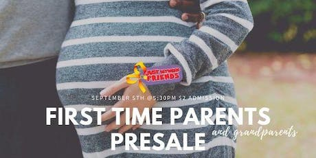 First Time Parent/Grandparent PRESALE Entrance - JBF Roseville Fall 2019 Event $2 Admission (paid at the door) tickets