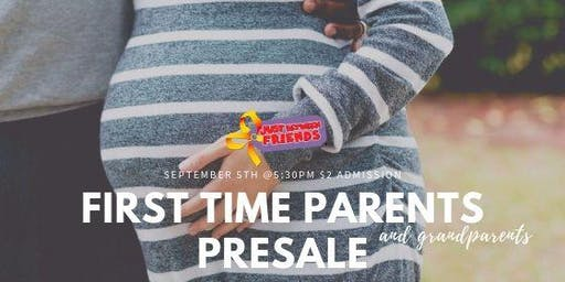 First Time Parent/Grandparent PRESALE Entrance - JBF Roseville Fall 2019 Event $2 Admission (paid at the door)