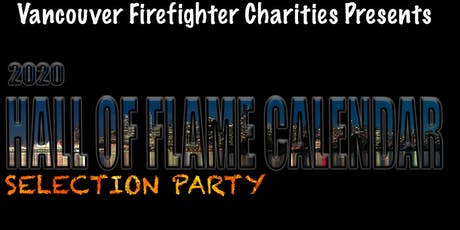 2020 Vancouver Firefighters Hall of Flame Calendar Selection Party tickets
